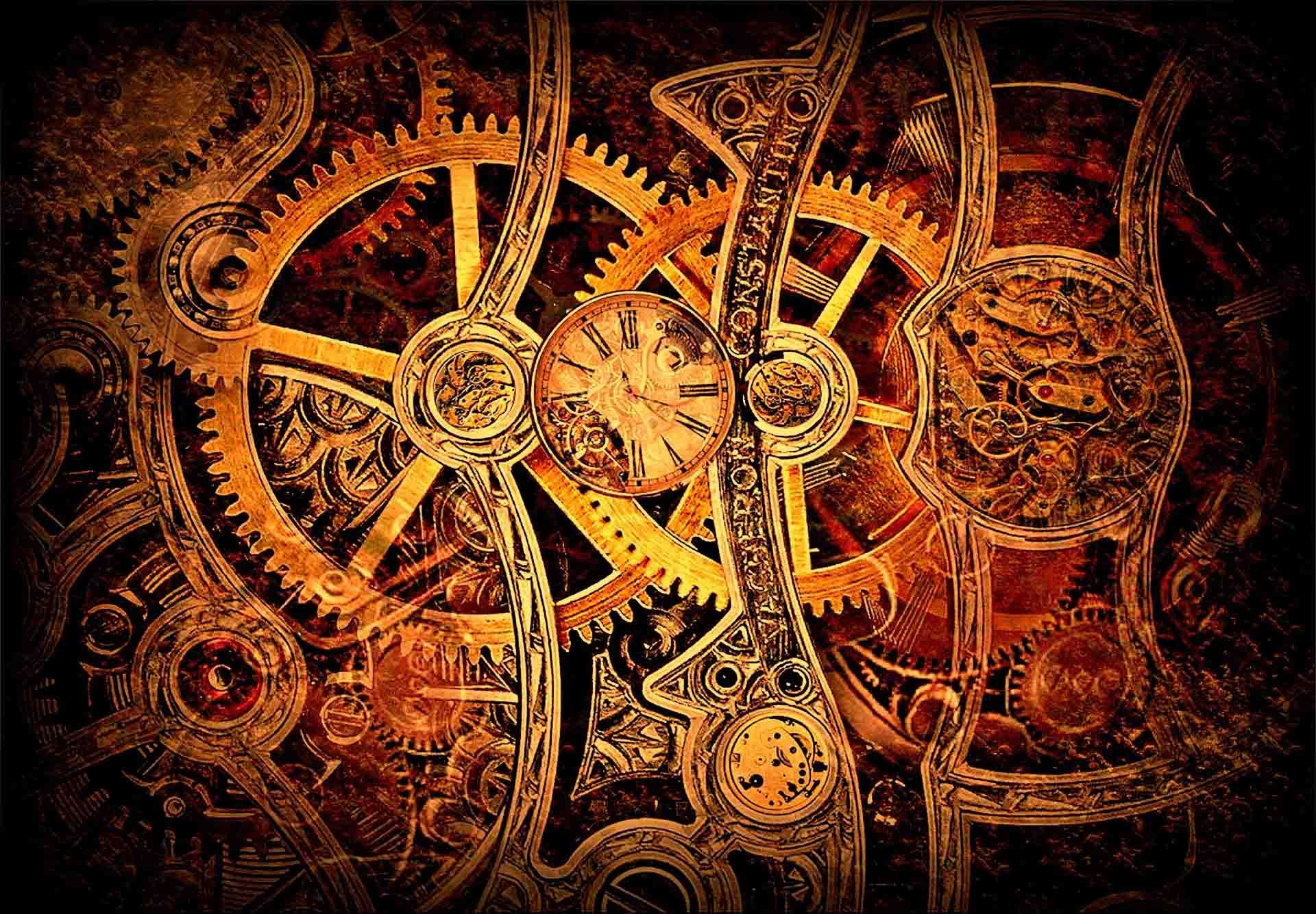 steampunk clock latest hd wallpapers free download hd free