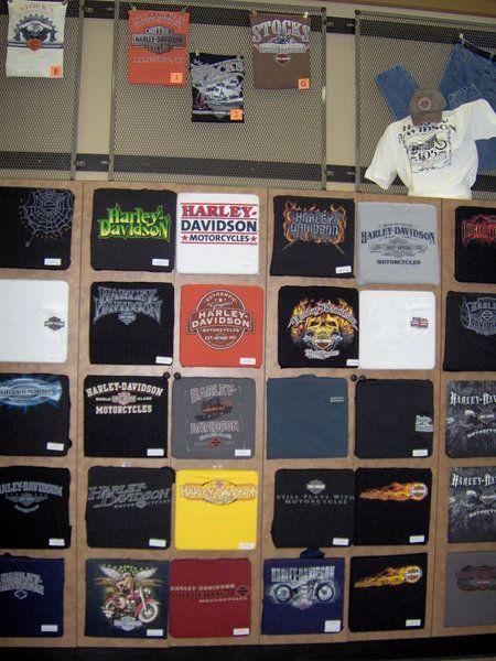 Their t shirt wall retail display pinterest walls for Retail shirt display ideas
