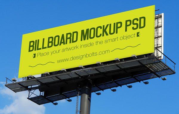 3 Free Outdoor Advertising Billboard Hoarding Mockup Psd Files Outdoor Advertising Billboard Billboard Mockup Mockup Psd