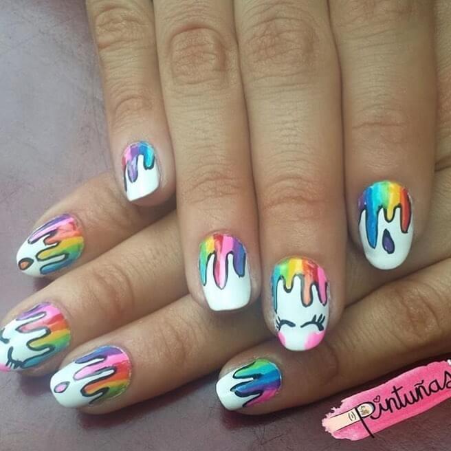 Unas Decoradas Para Ninas Unas Cool Hairstyles Nails Y Nail Art