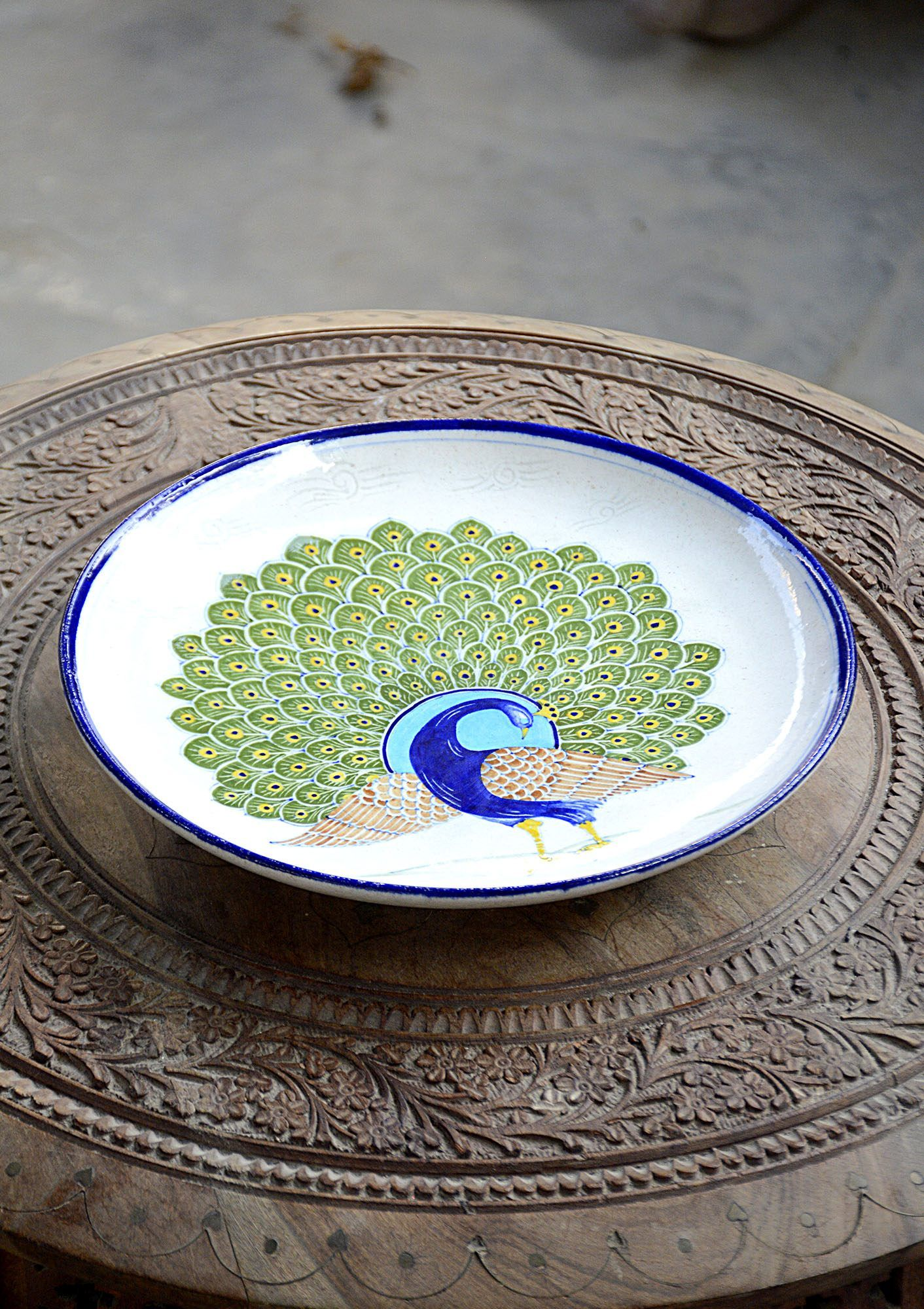 Hand Crafted Plates Dinning And Bath Bd This Handcrafted Oval Shape Decorative Plate Is Made From Ceramic This Plates Are Fi Plates Decorative Plates Handcraft