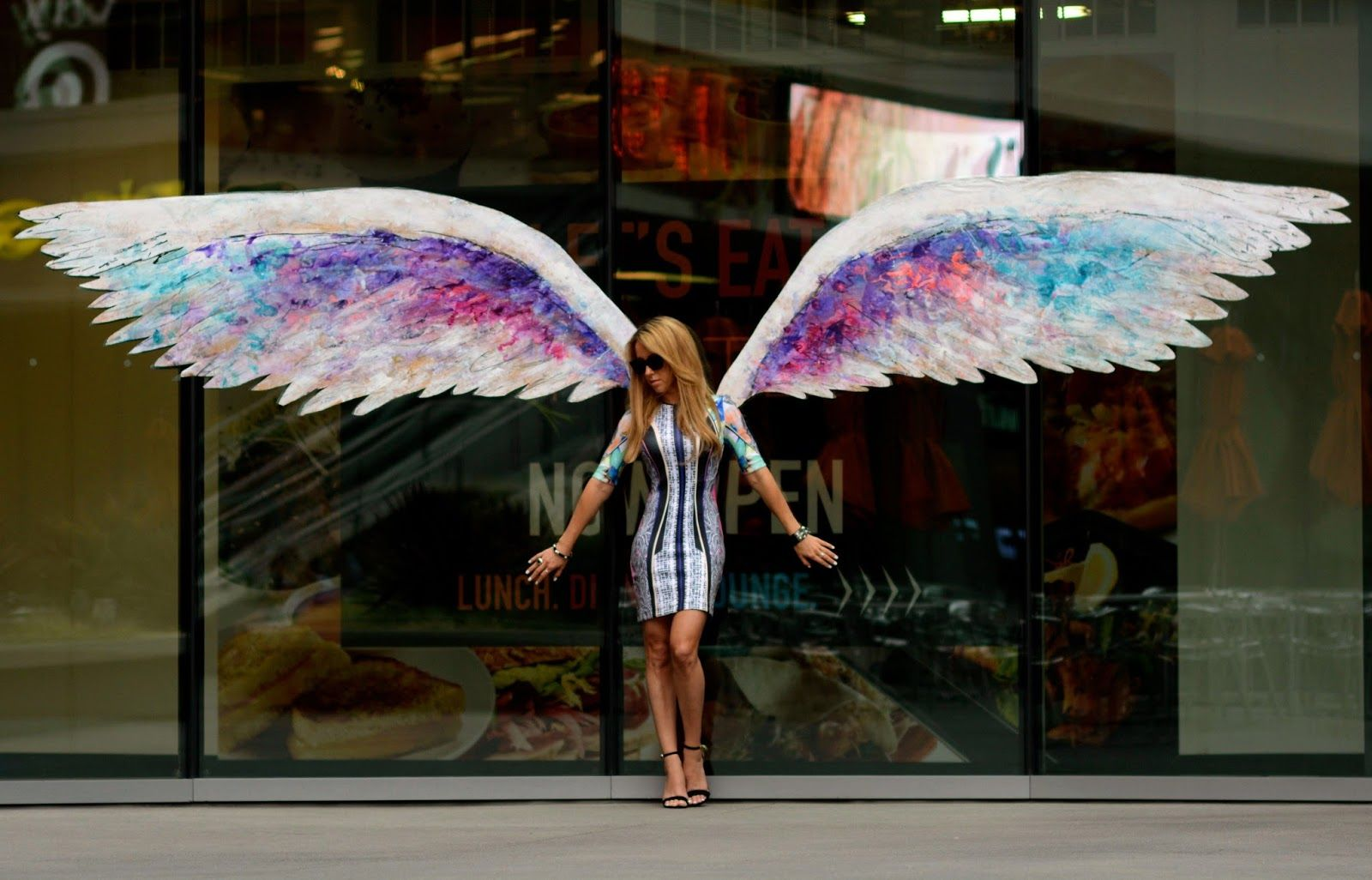 The High Feather: City Of Angels | Angel wings art, Wings