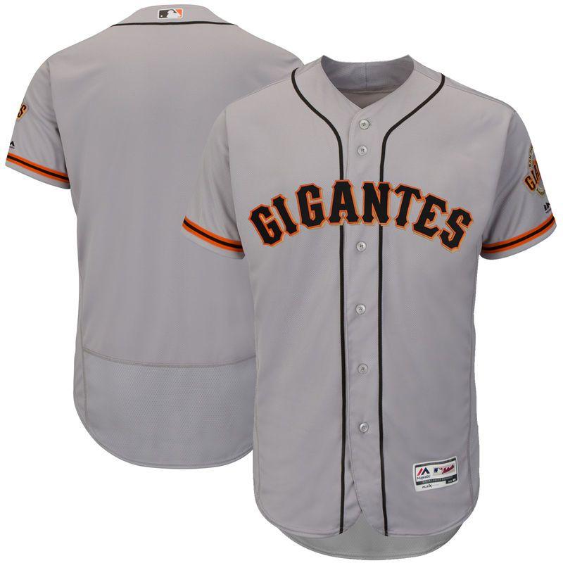 best loved 03ef8 9da8e San Francisco Giants Majestic Hispanic Heritage Flex Base ...