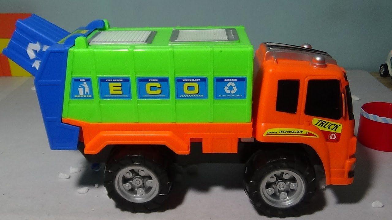 Camiones De Basura Infantiles Para Ninos En Espanol Video Camion De J Camion De Basura Juguetes Para Ninas Camiones