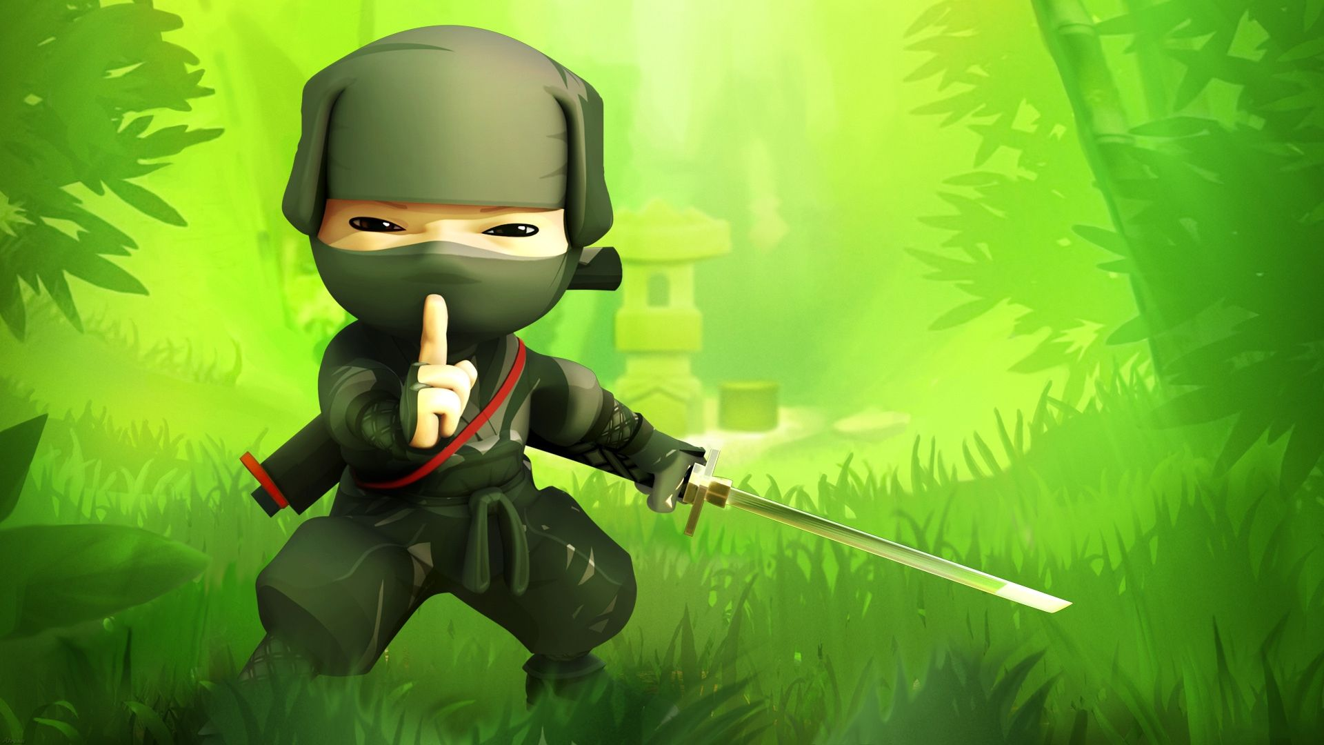 Cartoon Ninja HD Wallpapers