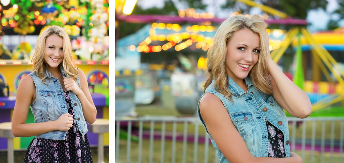 Alexandra Feild Photography Senior Portraits Viera Melbourne  Winter Park Orlando Central Florida | Senior girl carnival session