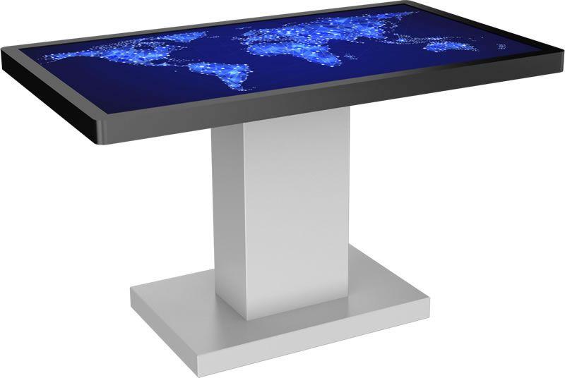 Table Tactile 65 Hybrid Table Tactile En 65 Pouces Elle Est Inclinable Et Dotee D Un Ecran Iiyama Multitouch 12 Points Haute Perfo Table Tactile Table Mini