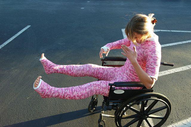 Full Body Cast Wheelchair