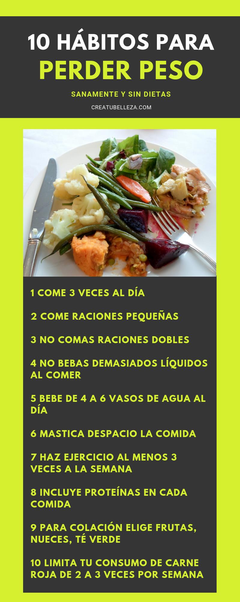 planes de comidas para bajar de peso baratos y fáciles