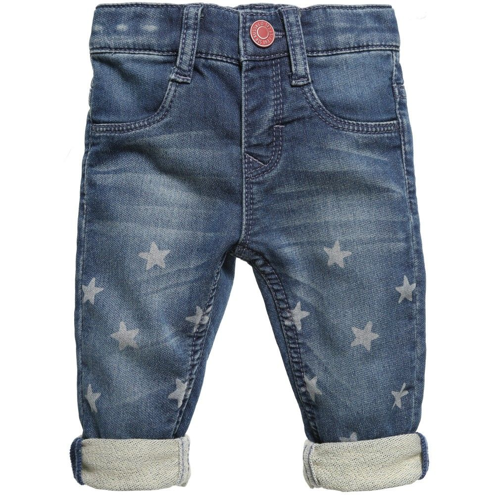 Levi's Baby Girls Soft 'Starflee' Jeans with Stars at Childrensalon.com