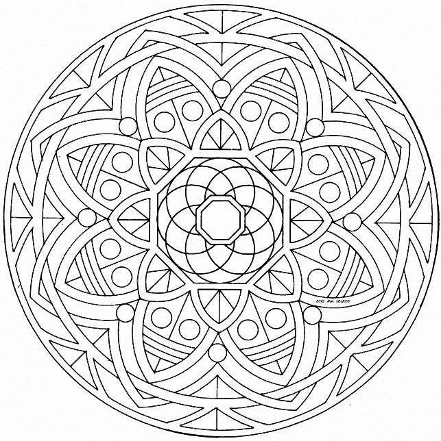 mandalas para pintar | Dibus | Pinterest | Mandalas