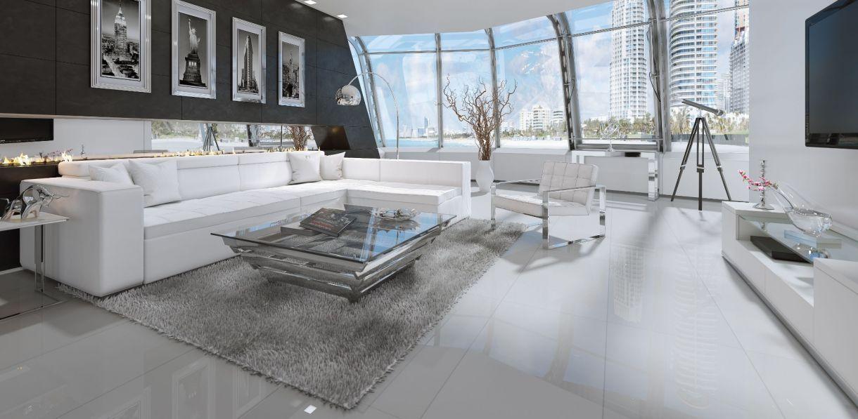 Monaco Sectional Sofa White White Sofas Modern Sofa Modern