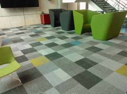 57 Ideas Flooring Pattern Carpet Hallways Flooring With Images Patterned Carpet Carpet Tiles Carpet Tiles Office
