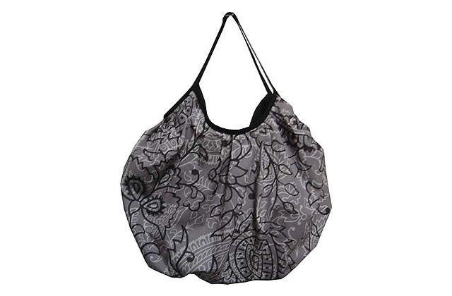 Un grand sac boule tissu ext rieur coton tiss et le voir for Sac de ragreage exterieur