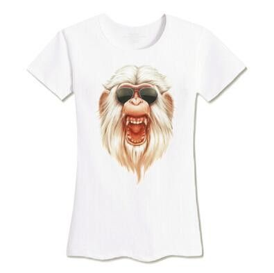 Hot Sale Novelty T-shirt Women Fashion 3D Printed T-shirt Female Casual Funny Brand Top Tees Eye Cat Skull Top Plus Size Tee