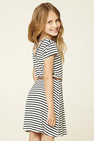 1075af7aced2 Girls Striped Mini Dress (Kids)