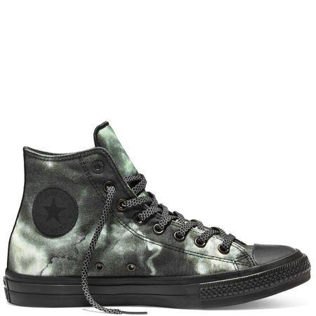Converse Chuck Taylor All Star II Marble Black Hi Top