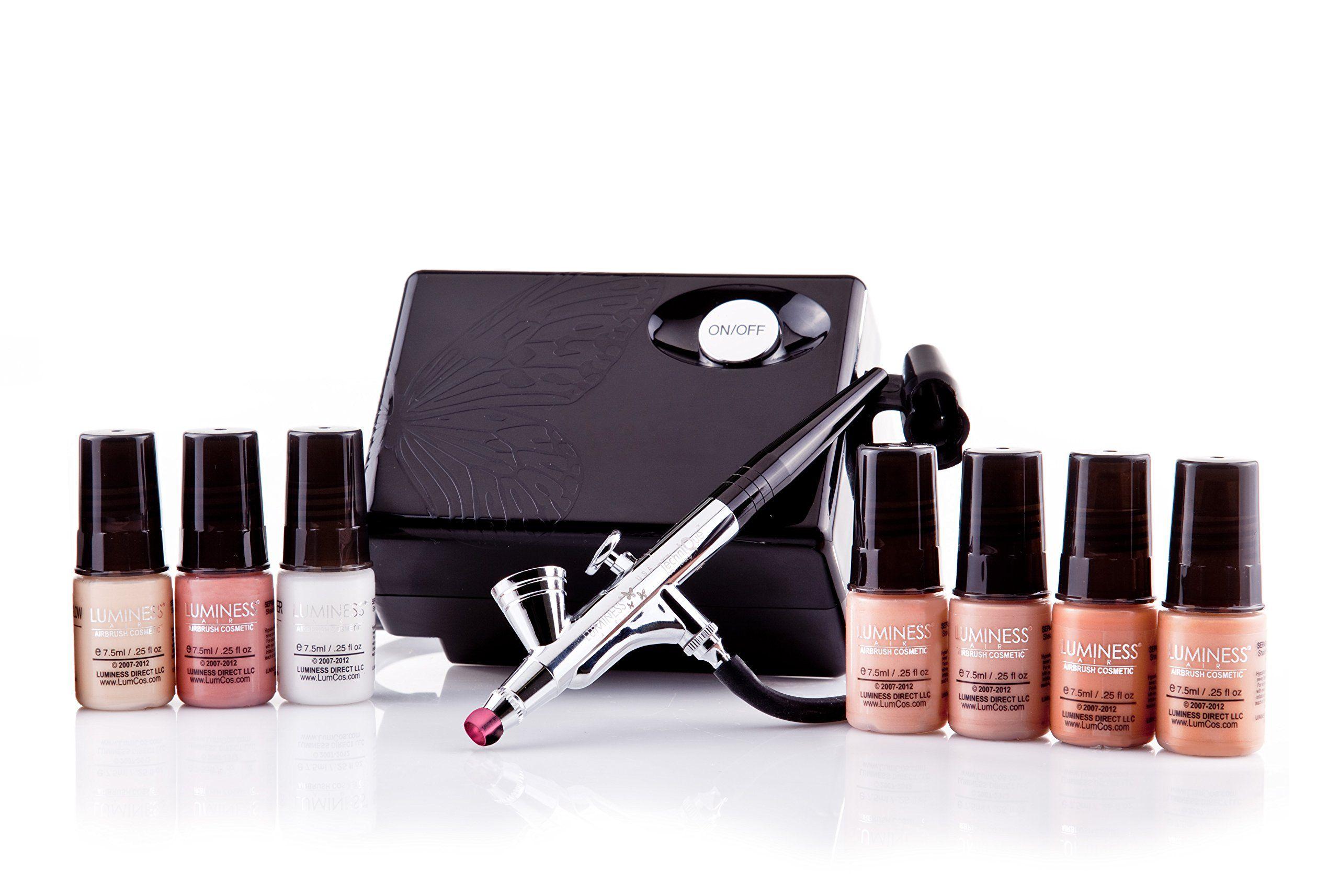 Luminess Air Airbrush Makeup System Airbrush Foundation Cosmetics It Cosmetics Foundation Airbrush Makeup Kit Airbrush Makeup Foundation
