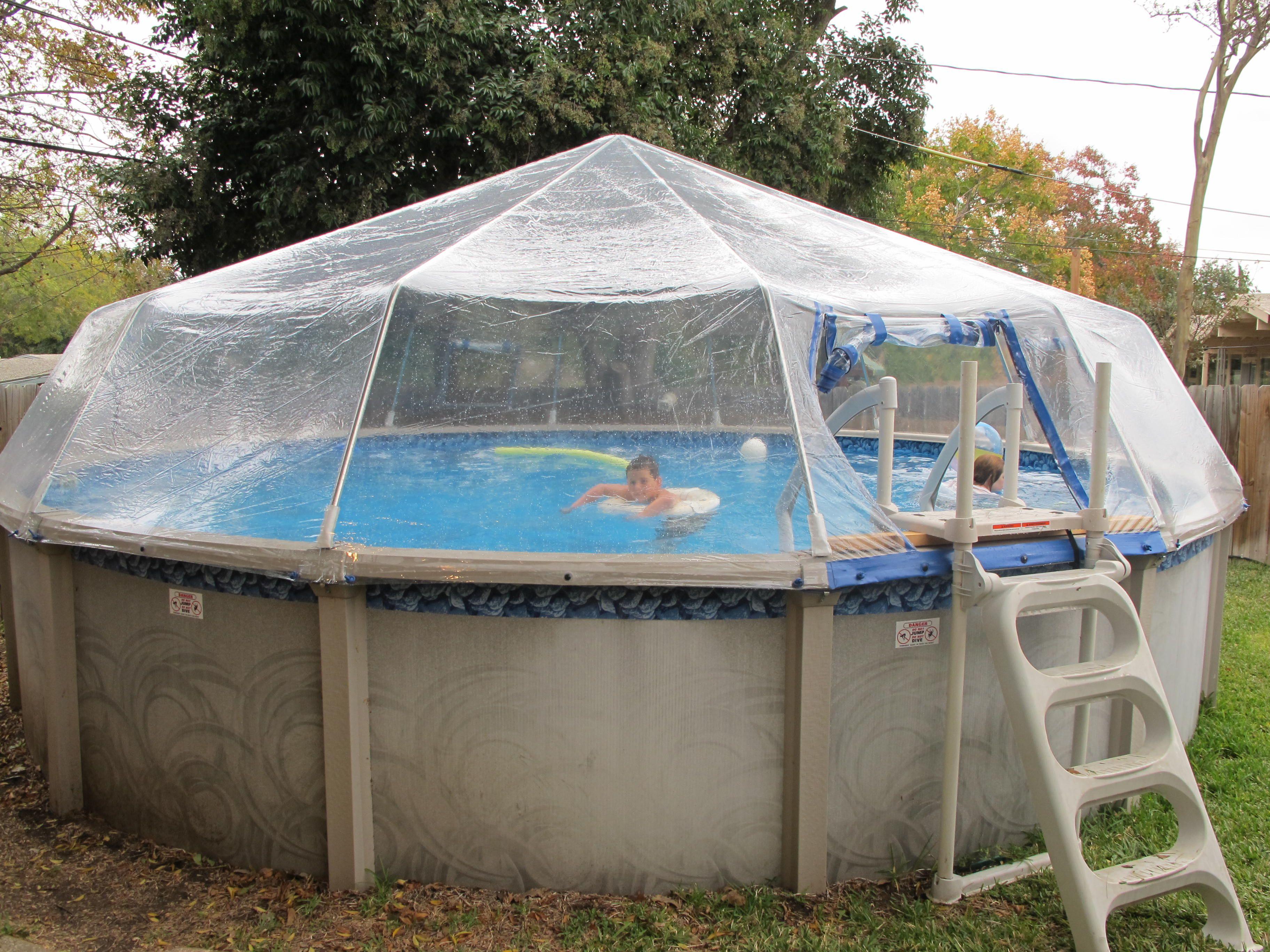 Above Ground Pool Dome Design Decor 32591 Decorating Ideas