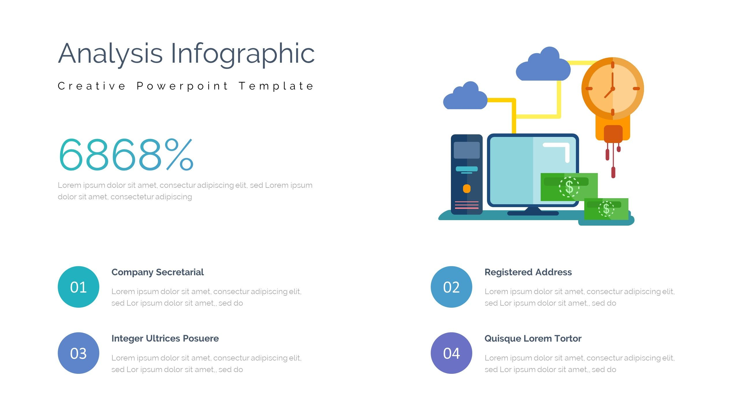 Case Study Pitch Deck Powerpoint Template Pitch Study Case