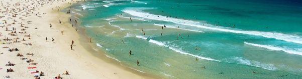 Leer surfen op het bekendste strand van Australië! http://www.333travel.nl/tour/australie/333pure-bondi-surf-experience?productcode=T6595