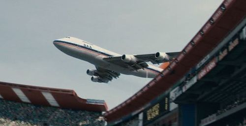 Saa 747 Zs San World Rugby Cup 1995 Ellispark Fly Over South African Airways Johannesburg City African Skies