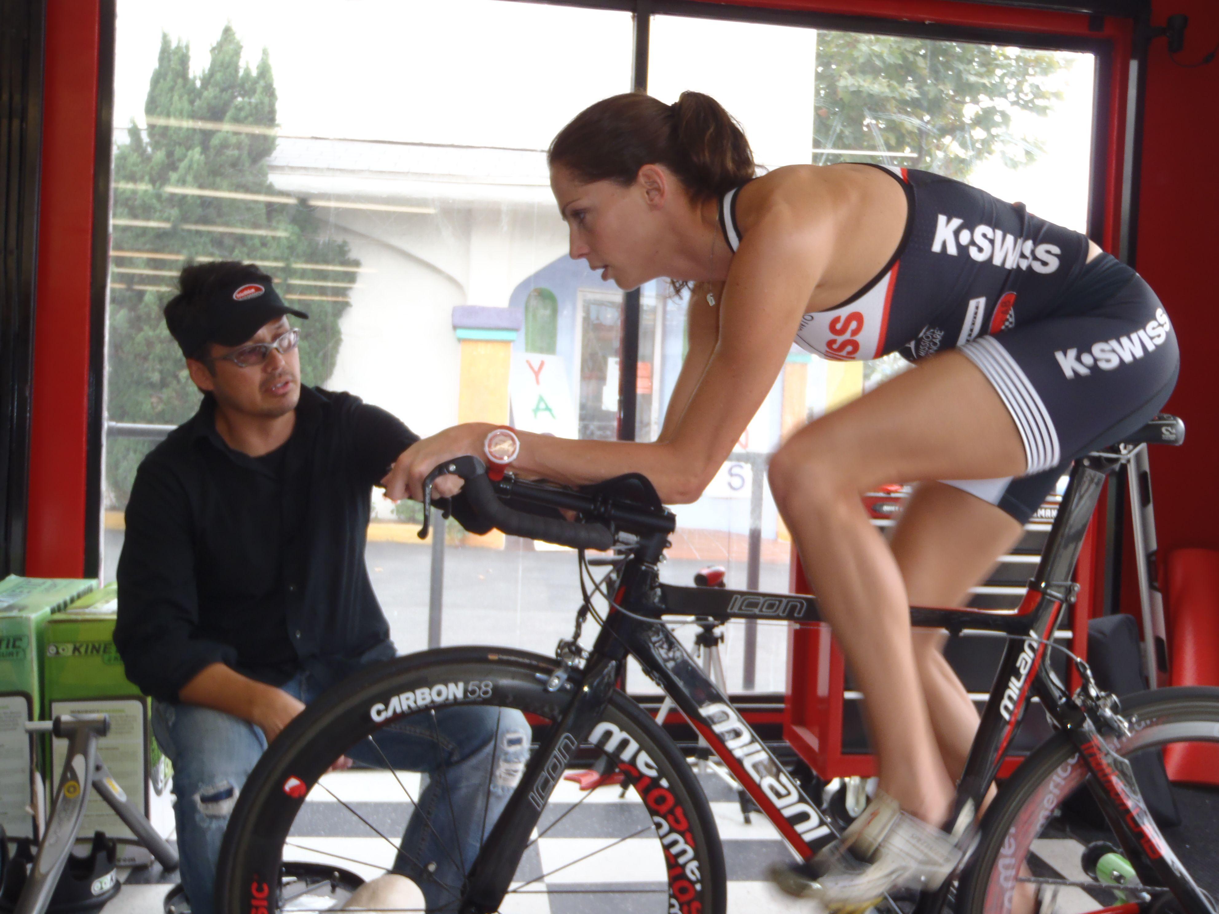 Lloyd Taylor owner of Triathlon LAB fitting professional