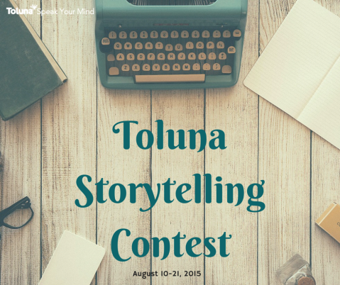 Toluna Storytelling Contest Results! See the amazing story