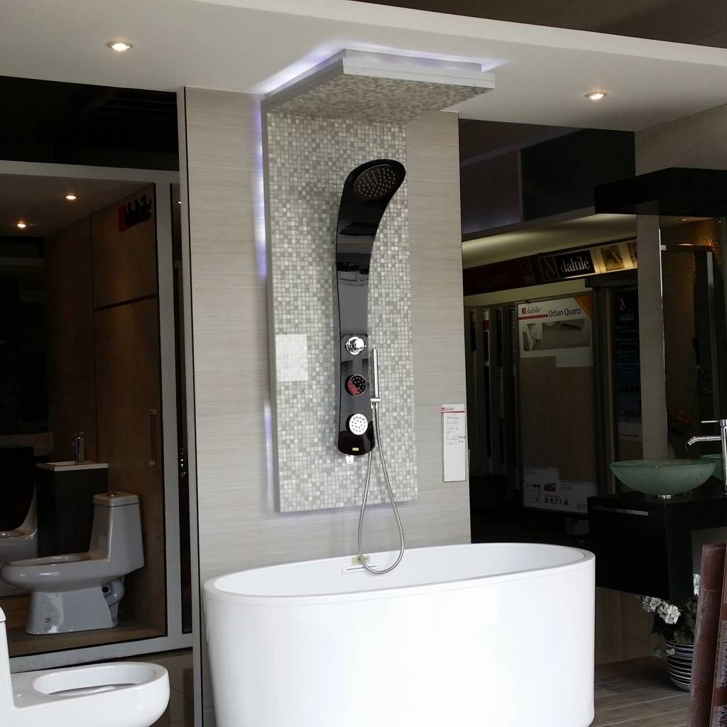 Panel de ducha de conexion superior ba os de estilo por for Ciclo superior diseno de interiores