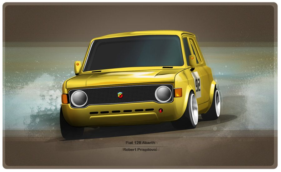 Fiat 128 Abarth With Images Fiat 128 Fiat Cars Fiat