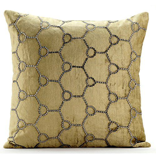 Luxury Sage Green Decorative Pillows Cover Modern Geomet Https