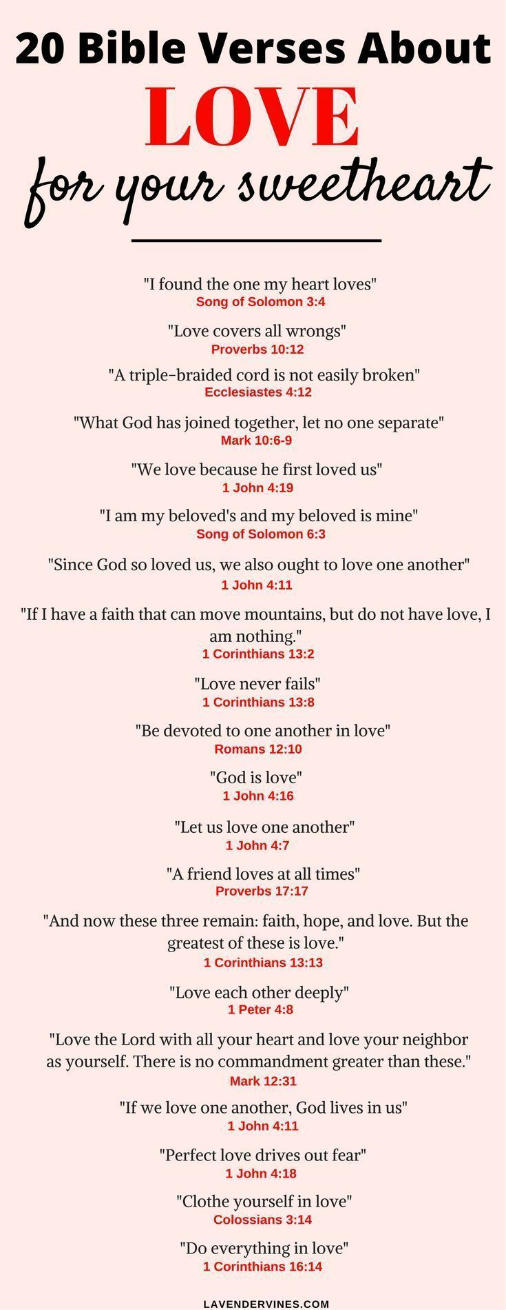 There are so many bible verses about love in the Bible. I hope this list of love bible verses helps you with inspiration for bible verses about relationships and marriage #bibleverse #bible #Jesus #love #God #faith #christian #christianity