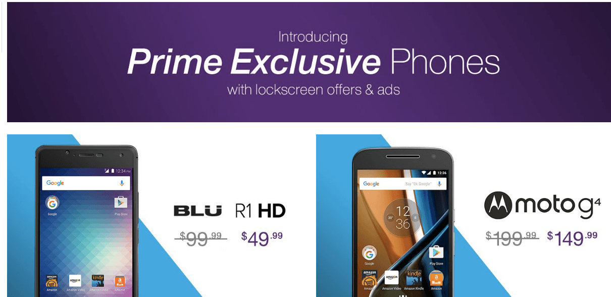Image result for amazon prime smartphones banners