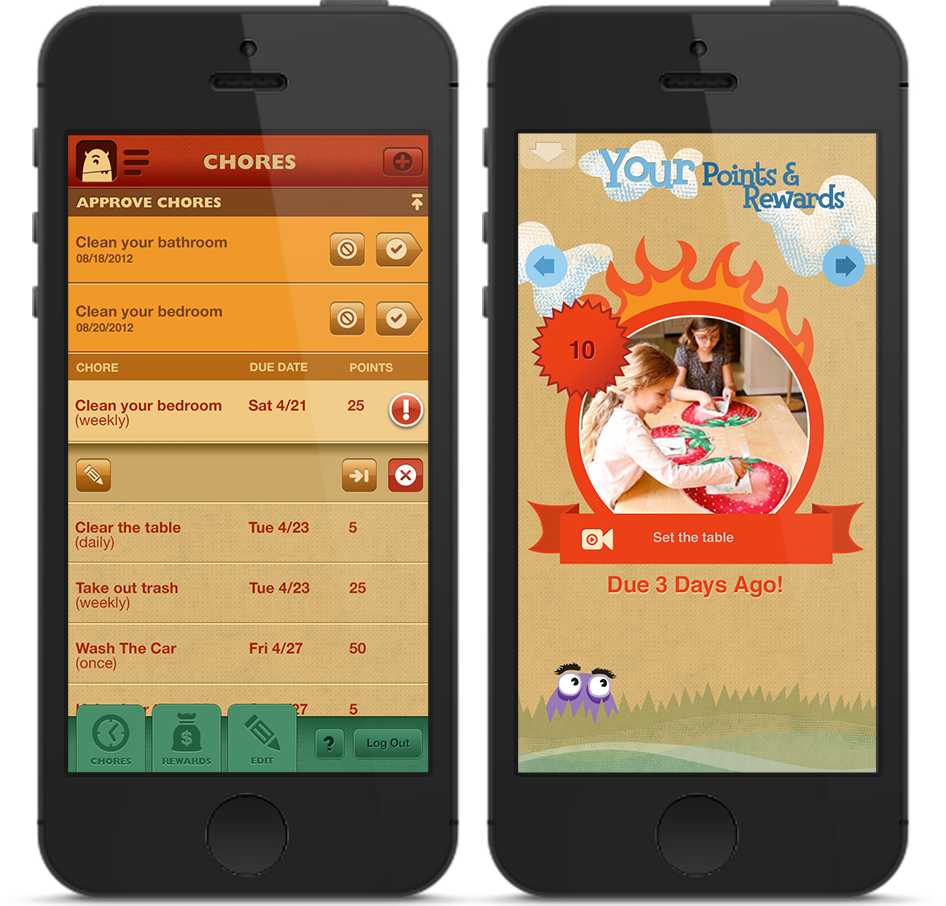 Chore app for kids parents toss out your chore charts use