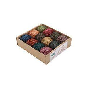 J.Patton Hand-Overdyed Perle Cotton Thread Balls Size 8 Designer Set, 12/Pkg: Heirloom