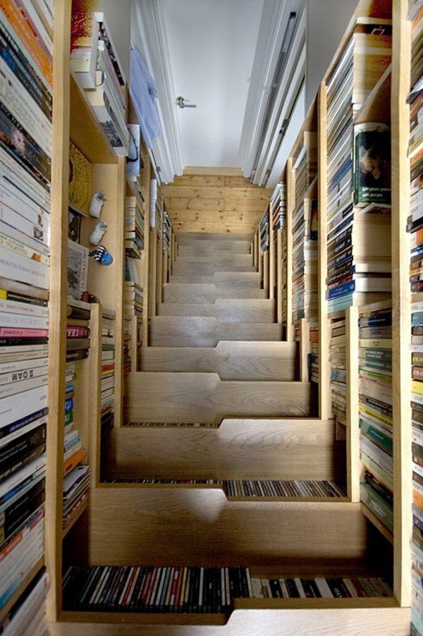 erstaunliches interior treppe b cherregale 07 13 treppen g nge t ren pinterest erstaunlich. Black Bedroom Furniture Sets. Home Design Ideas