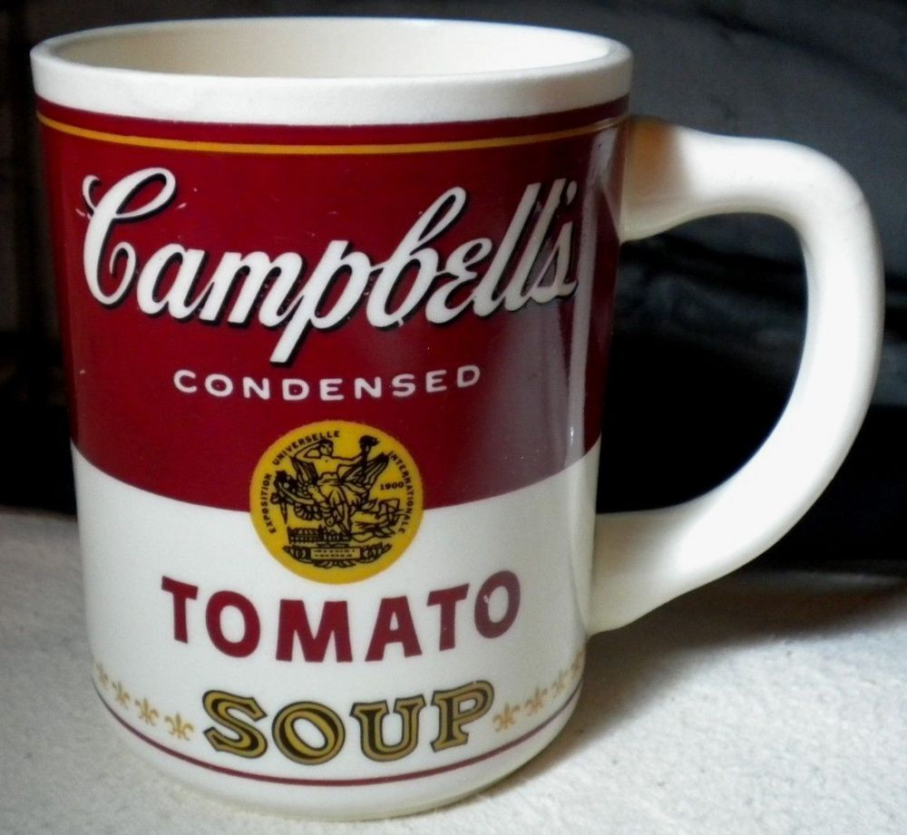 2b078101329 Vintage Campbell's Condensed Tomato Soup Mug Coffee Cup Tea Made in ...