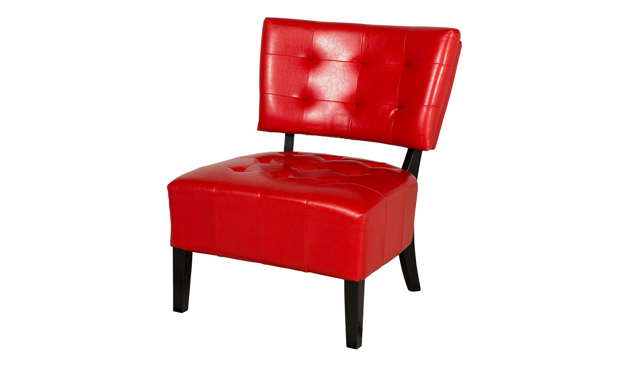 Roter Retro Sessel Sessel Rot Mit Knopfsteppung Lena Dream Living Room Furniture