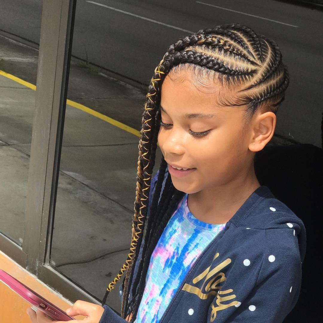 2019 Kids Braids Hairstyles  Cute Styles for Little Girls
