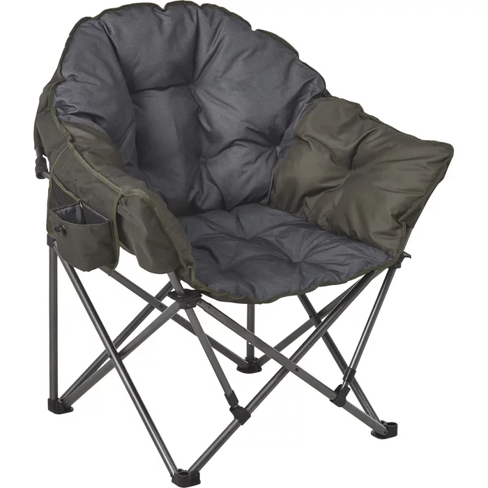 Portal Oversized Folding Club Camp Chair 500 Lb Capacity Green