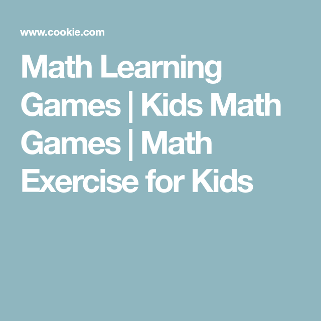 Math Learning Games | Kids Math Games | Math Exercise for Kids ...