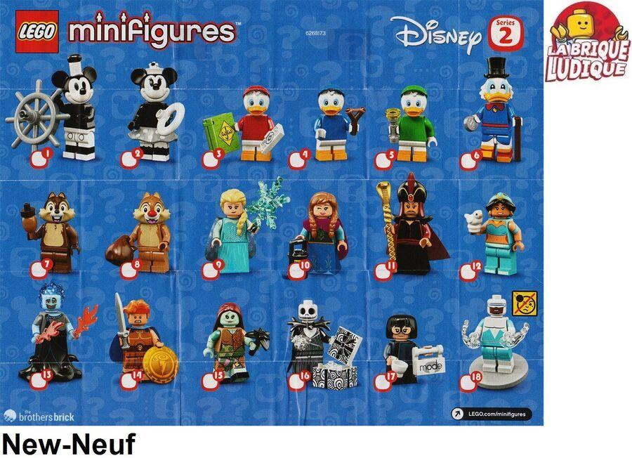 LEGO Minifig Figurine Minifigure 71021 Série 18 Series 18 Au Choix NEUF NEW