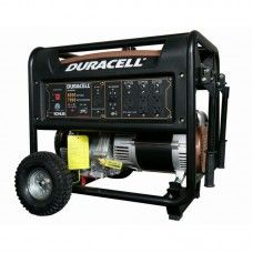 Duracell 8000 Watt Gasoline Powered Portable Generator With 1 Kohler Engine And Recoil Start