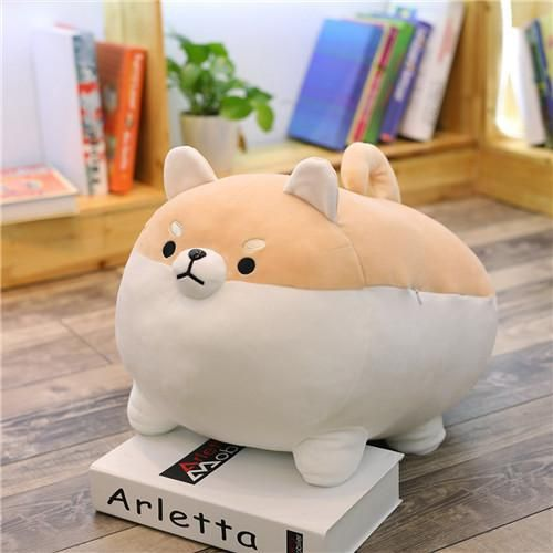 This cute relaxing companion can find its home sleeping among your bedtime pillows, or waiting for you on the couch. Will you keep this kawaii dog to yourself? Or will you share this Shiba Inu plushie with a friend? ⭐️ Currently on SALE and SELLING FAST! ⏰ Buy now from www.globalplushie.com (link in bio!) ✉
