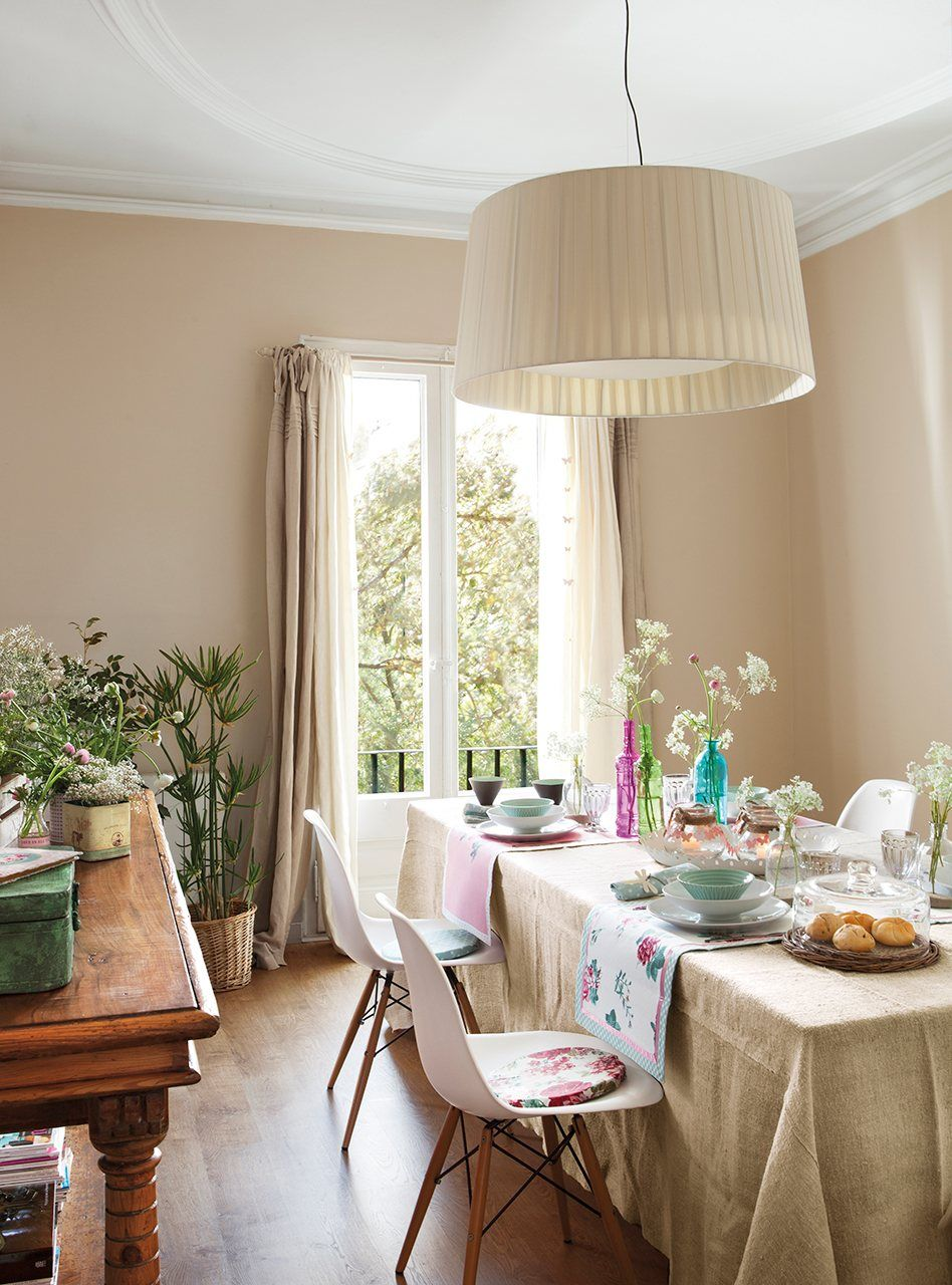 Ampl a tu casa solo con la pintura - Lamparas que den mucha luz ...