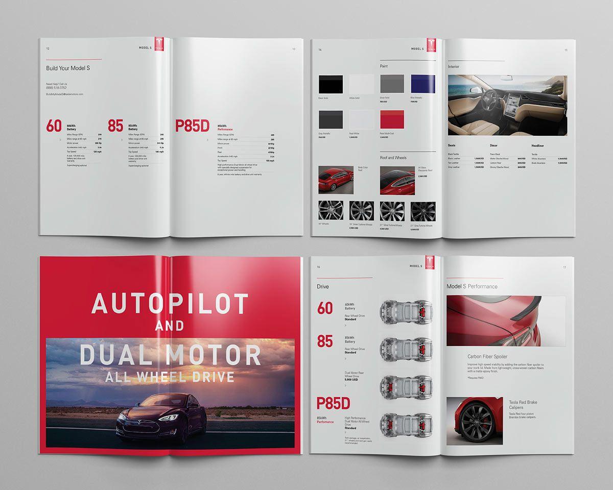Tesla Model S Catalog on Behance Tesla model s, Tesla
