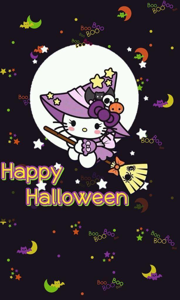 Hello Kitty Halloween Cute Wallpaper 2021 Live Wallpaper Hd Hello Kitty Halloween Hello Kitty Wallpaper Hello Kitty Art