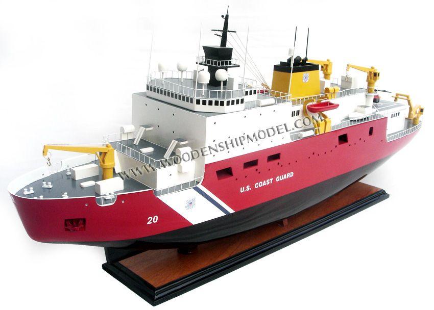 US Coast Guard Icebreaker Healy Ship Model