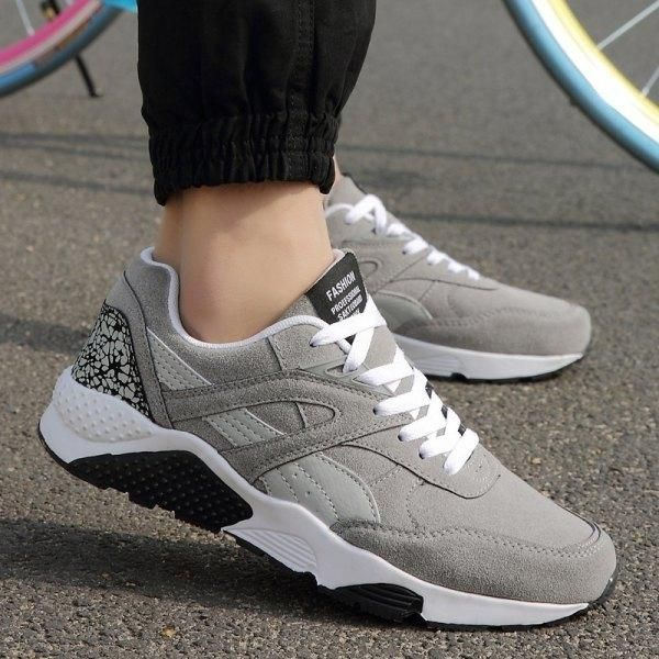 Rose Wholesale Trendy Sports Casual Shoes Gray