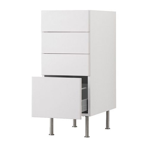 akurum base cabinet with 4 drawers ikea fully extending for easy overview and access akurum base cabinet with 4 drawers ikea fully extending for easy      rh   pinterest com